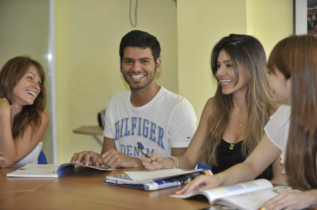 Learn with friends during your free time at Spanish courses in Madrid