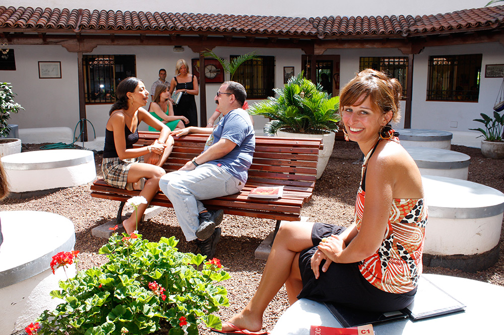 Spanish courses in Tenerife in one of the best schools on the Island