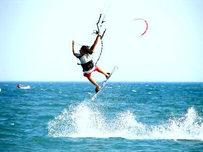 Take part in water sport whilst studying Spanish courses in Ibiza