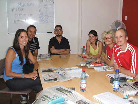 Study in small classes during your Spanish courses in Santiago de Chile which helps ensure that the tutors can focus on each individual students progress